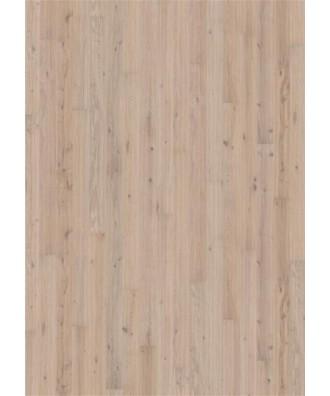 Kahrs parkett Eik Vista 1-stav håndskrapet, børstet, faset olje, 15x175x2420. Svanemerket