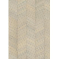 PARKETT 15 EIK CHEVRON WHITE