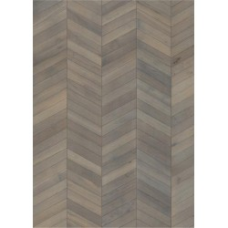PARKETT 15 EIK CHEVRON GREY